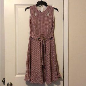 Dresses & Skirts - Red Plaid Dress